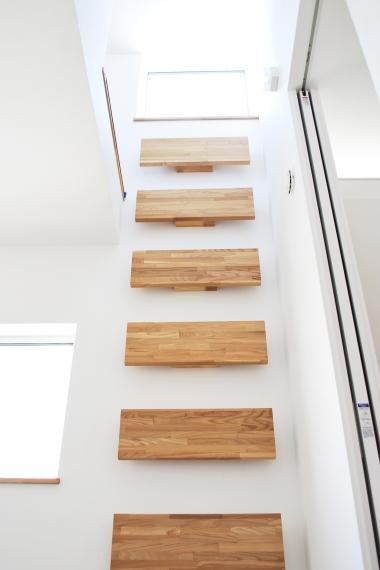 ロフト階段1