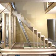 階段造作スタートしました!
